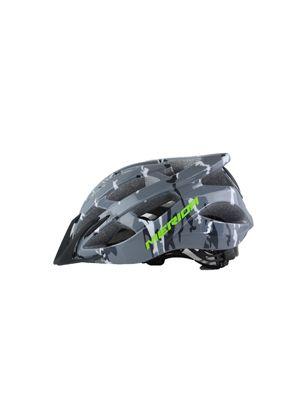 美利达骑行头盔20孔一体成型迷彩